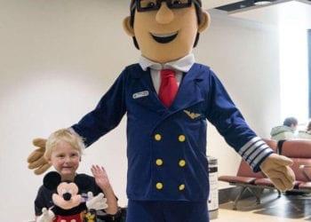 Pilot Ollie off to Florida